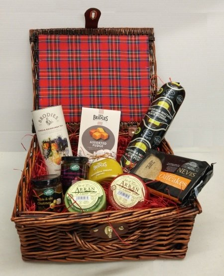 """The Tarbert"" Luxury Scottish Food Hamper Tarbert"