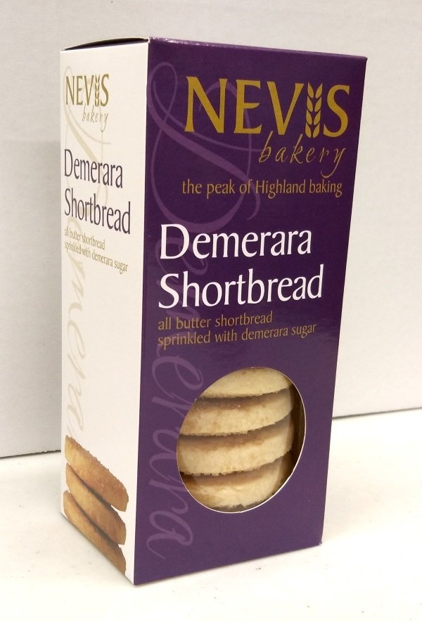 Nevis Bakery Luxury Demerara Shortbread (200g)