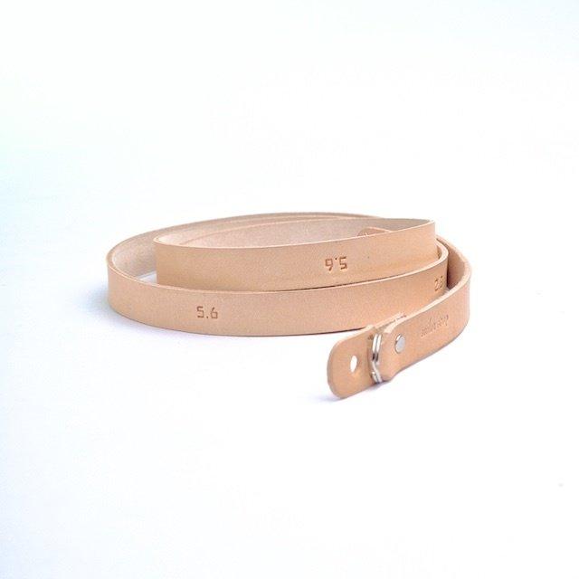 Aperture. Leather Camera Strap