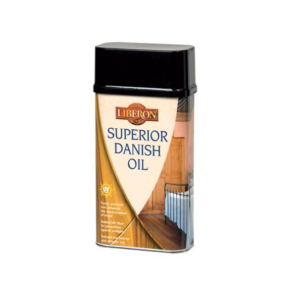 Cleaning Superior Danish Oil 500ml For Wooden Worktops
