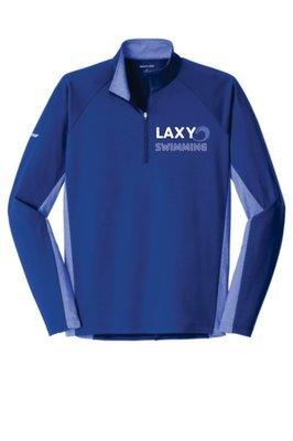 Sport-Wick® Stretch Contrast 1/2-Zip Pullover