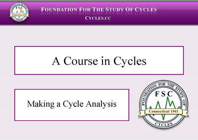 July 2016 FREEBIE - A COURSE IN CYCLES - 2008 VERSION (PDF Download)