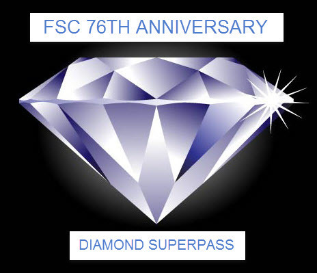 76th Anniversary Diamond FSC Full Access Superpass 2017 Annual Plan