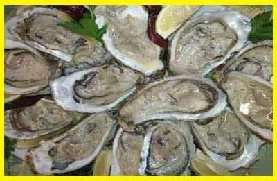 Ostriche al limone e pepe