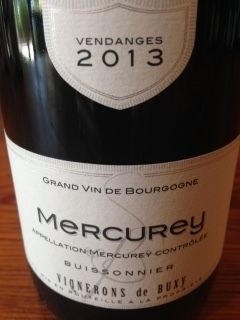 Buxy Buissonnier Mercurey Rouge 2015 DVSWZ9DYRB27W