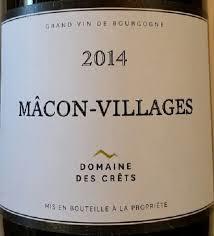 Domaine des Crets  Macon Village 2014 JCTJ8XBT4HWZR