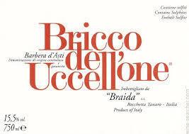 2014 Giacomo Bologno Bricco dell'Uccellone Barbera TKTE167J97VJ6