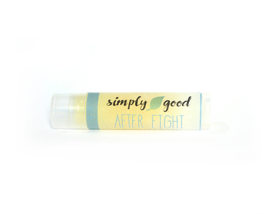 Simply Good™ After Eight Chocolate & Mint Flavoured Lip Balm
