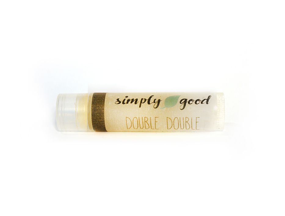 Simply Good™ Double Double Sweet Creamy Coffee Flavoured Lip Balm 00715