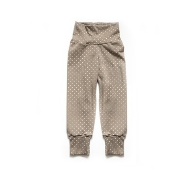 Little Sprout Pants™ Tan with Dots