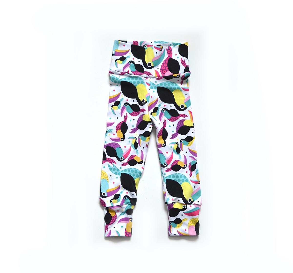 Little Sprout Pants™ Toucans 00757