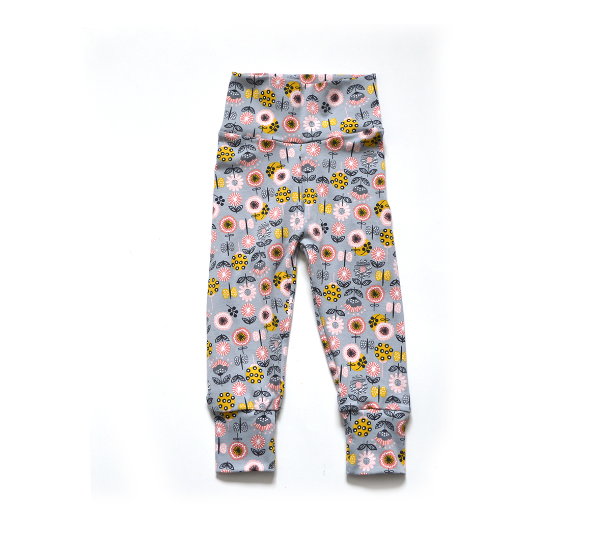 Little Sprout Pants™ Whimsical Floral - Cotton 00765
