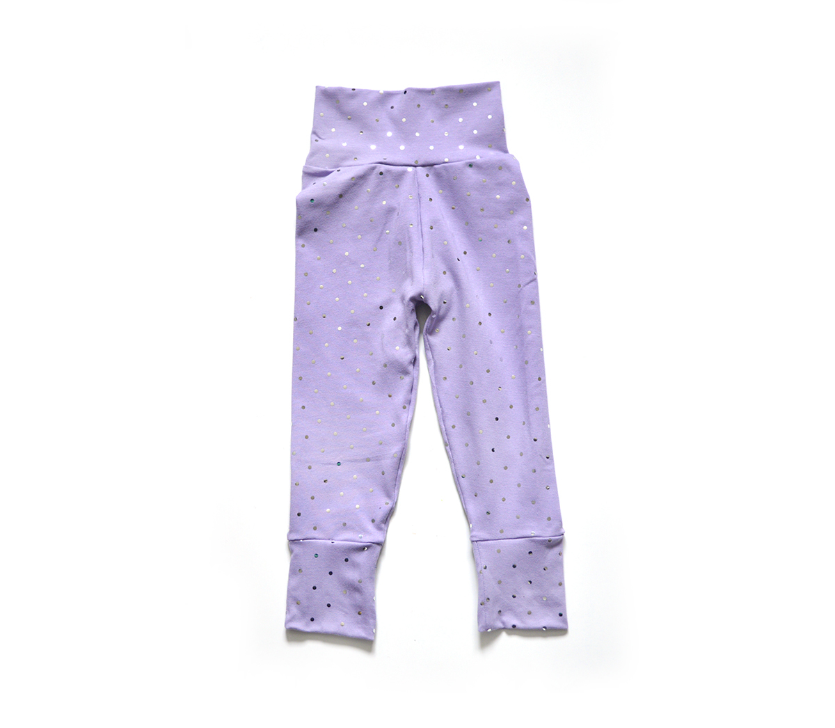 Little Sprout Pants™ Lavender with Mirrored Sequins - Cotton 00773