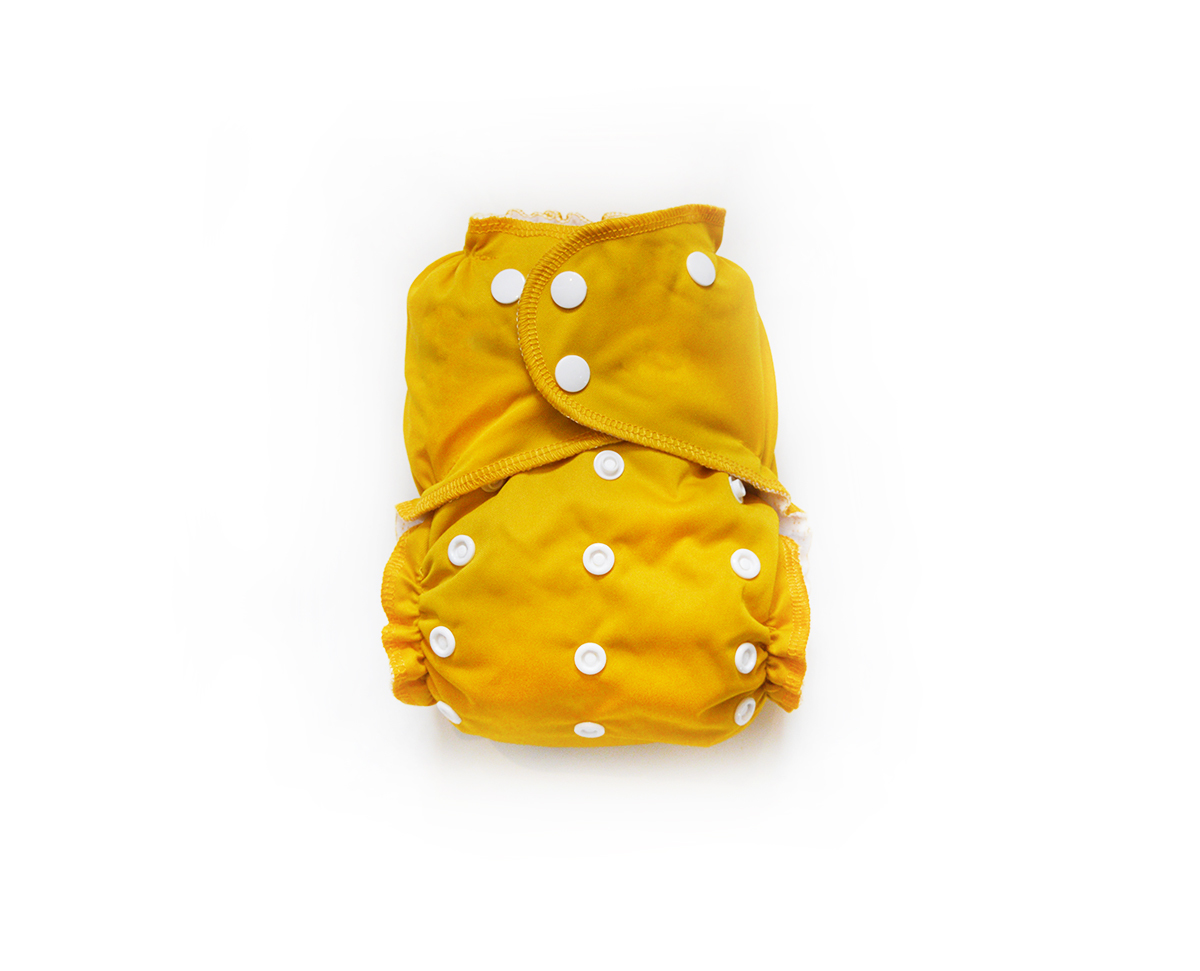 Easy Peasies® One Size Reusable Cloth Pocket Diaper - Golden Child 00828