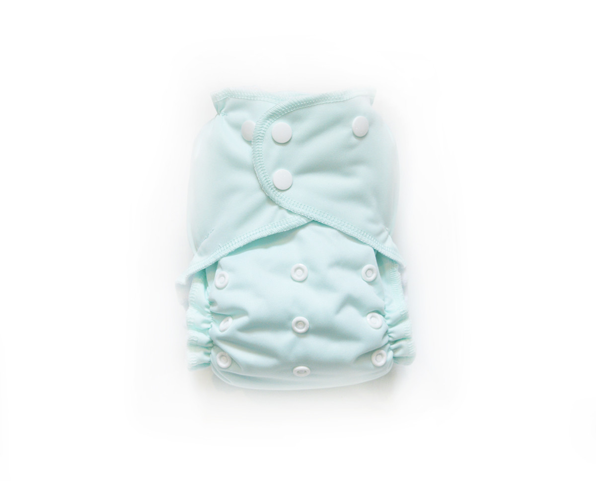 Easy Peasies® One Size Reusable Cloth Pocket Diaper - Mint