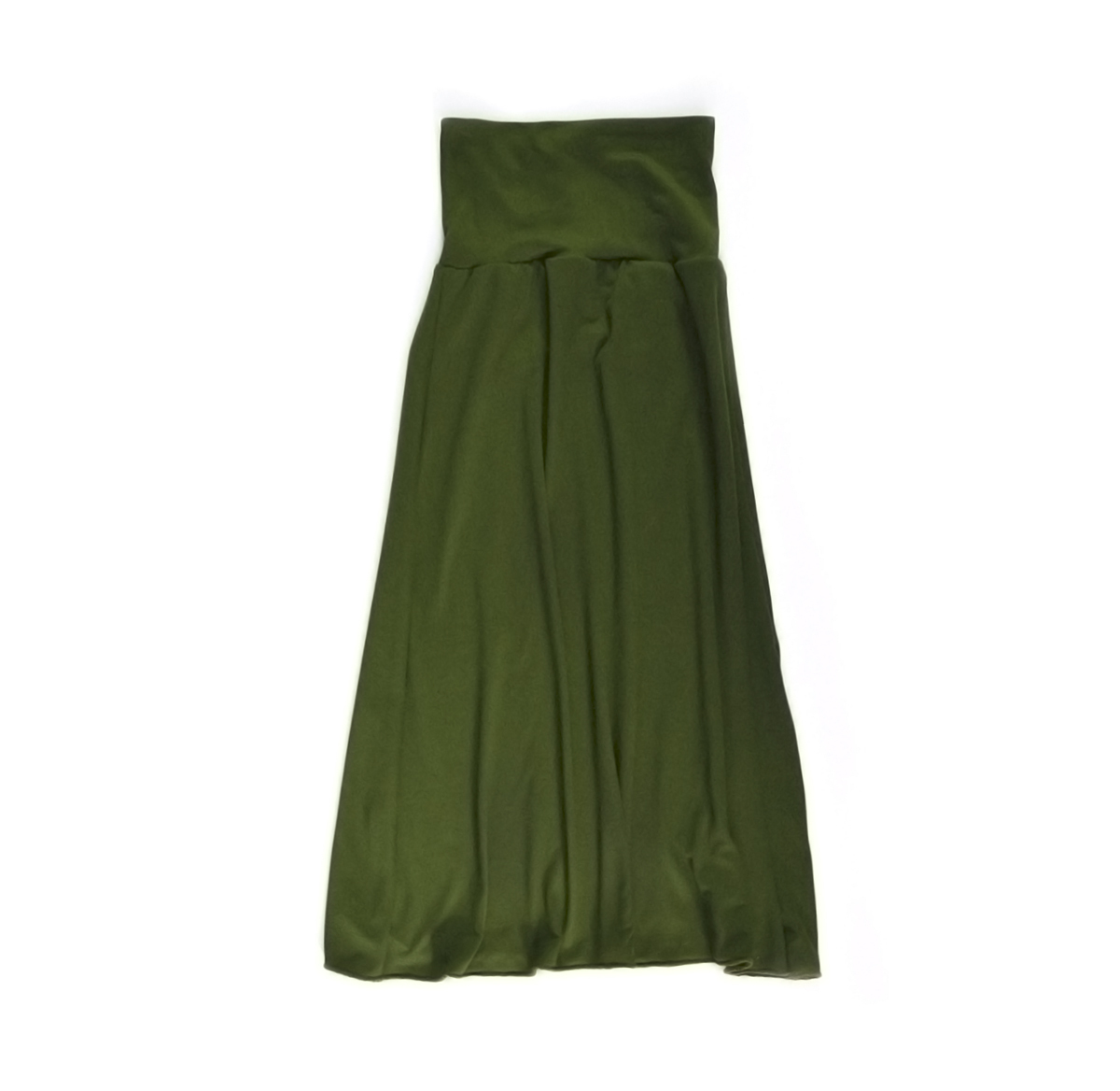 Little Sprout™ Girl's Maxi Skirt -Olive 00847