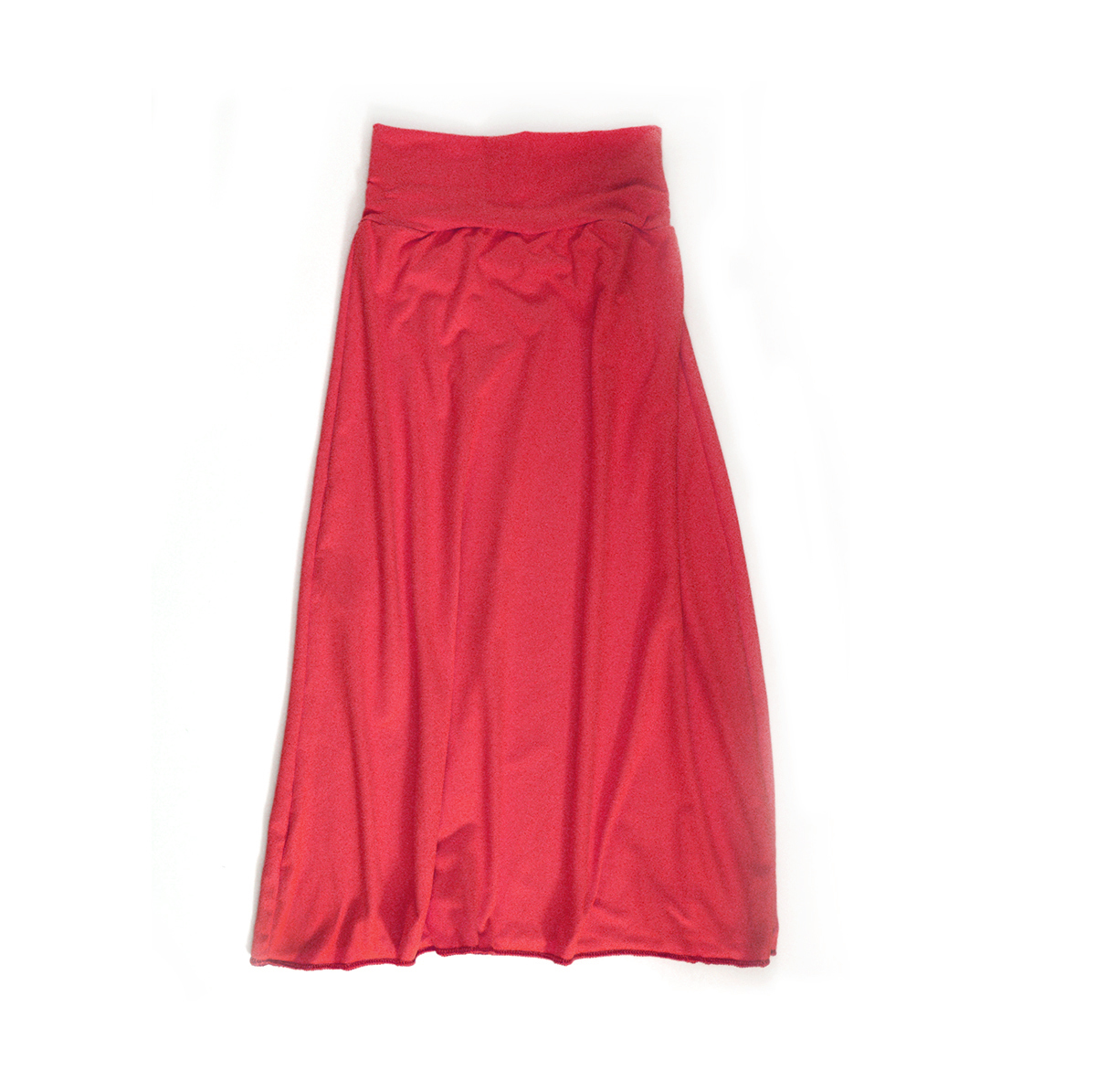 Little Sprout™ Girl's Maxi Skirt -Coral Pink 00848
