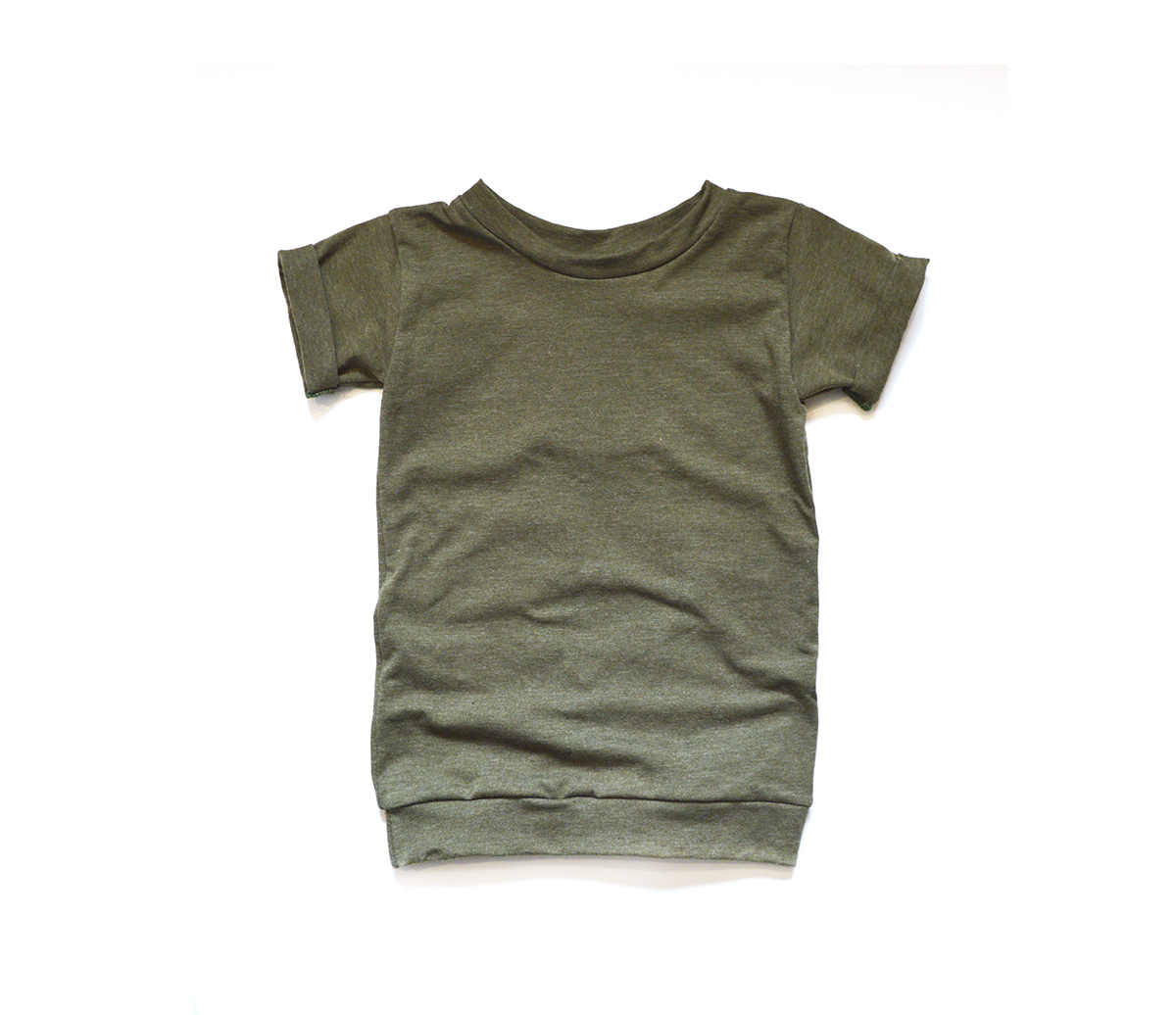 Little Sprout™ Baby to Toddler T shirt in Olive 00850