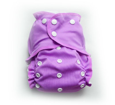 Easy Peasies® One Size Reusable Cloth Swim Diaper - Orchid