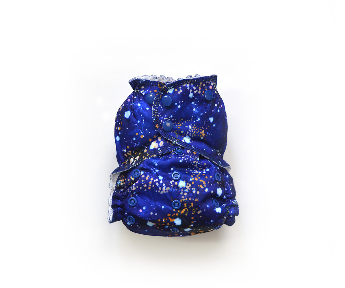 Easy Peasies® One Size Reusable Cloth Pocket Diaper - Cosmos