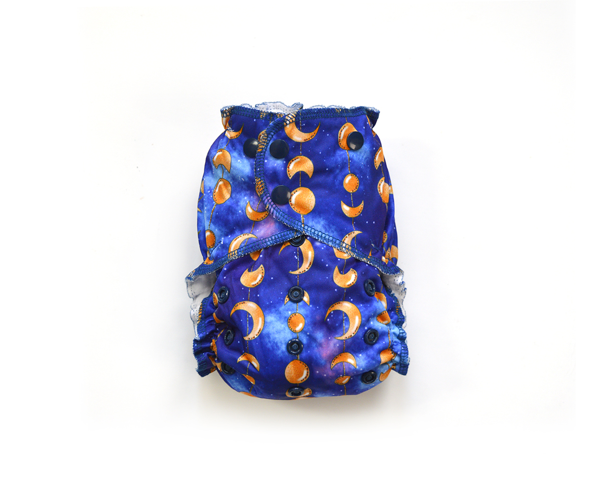 Easy Peasies® One Size Reusable Cloth Pocket Diaper - Oberon 00866