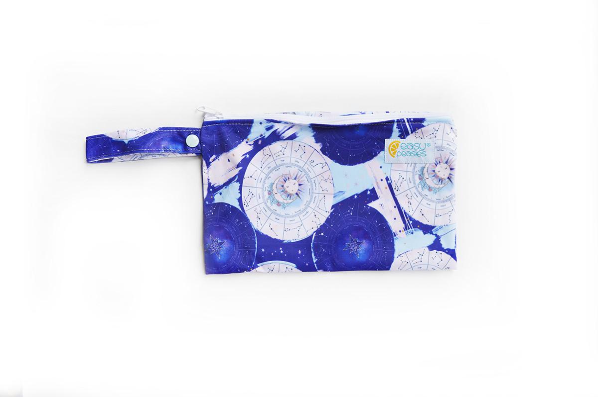 Easy Peasies® Mini Reusable Wetbag With Strap - Saros