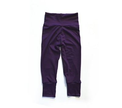 Little Sprout One-Size Pants™ Plum - Stretch