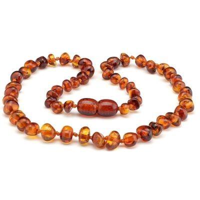 Baltic Pines™ Baltic Teething Amber Necklace - Medium Amber