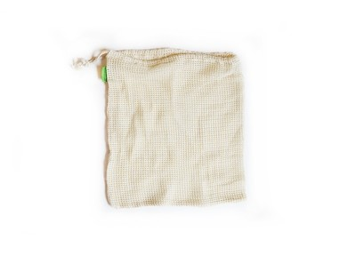 Simply Good™ Set of 2 Reusable Organic Cotton Mesh Produce Bag - Medium