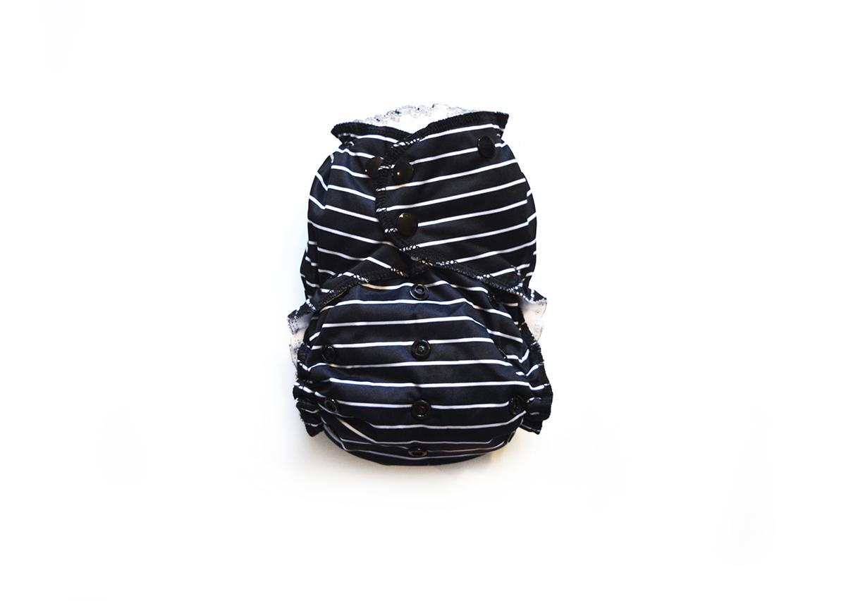 Easy Peasies® One Size Reusable Cloth Pocket Diaper - Fedora 01002