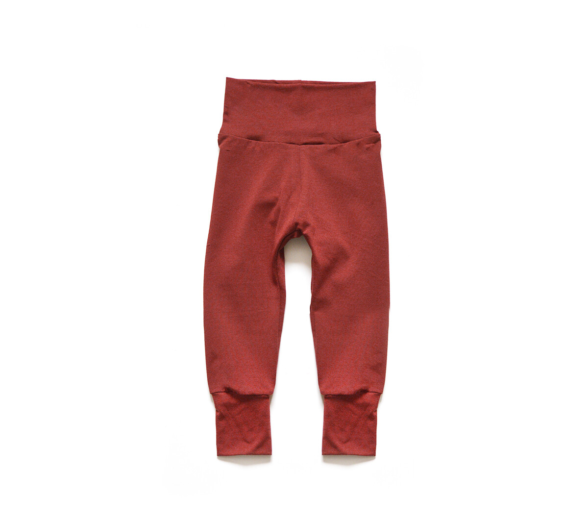 Little Sprout Pants™ in Terra Cotta | Grow With Me Leggings