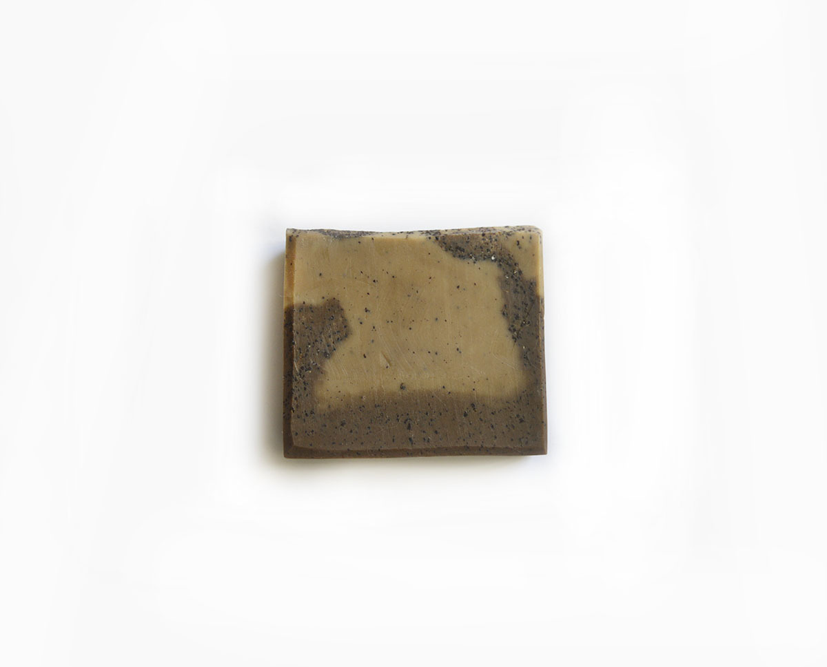 Cafe Mocha Simply Good™ Triple Butter Vegan Exfoliating Soap Bar 01044