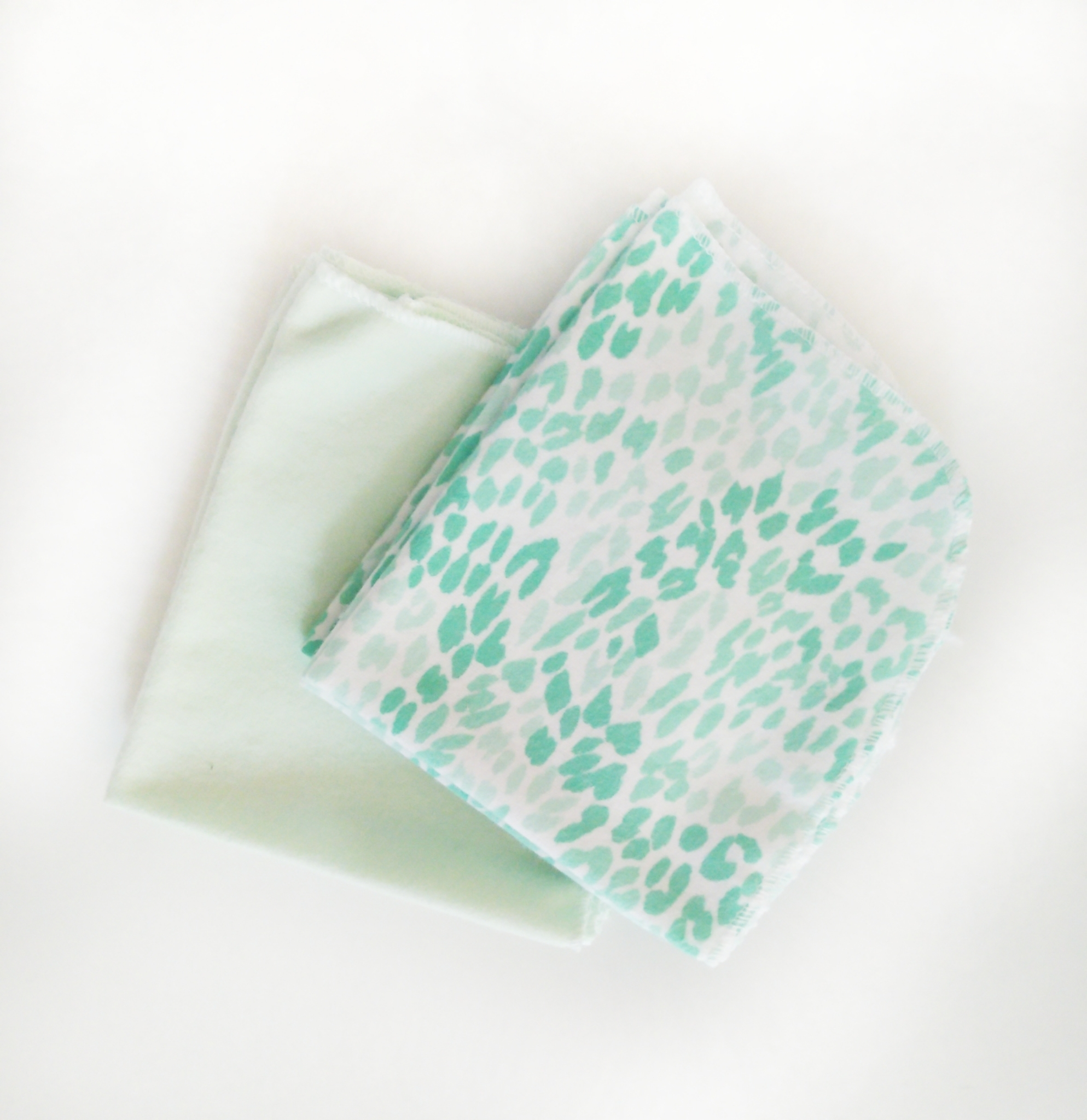 Easy Peasies Large 100% Cotton Flannel Wipes - Set of 8 01072
