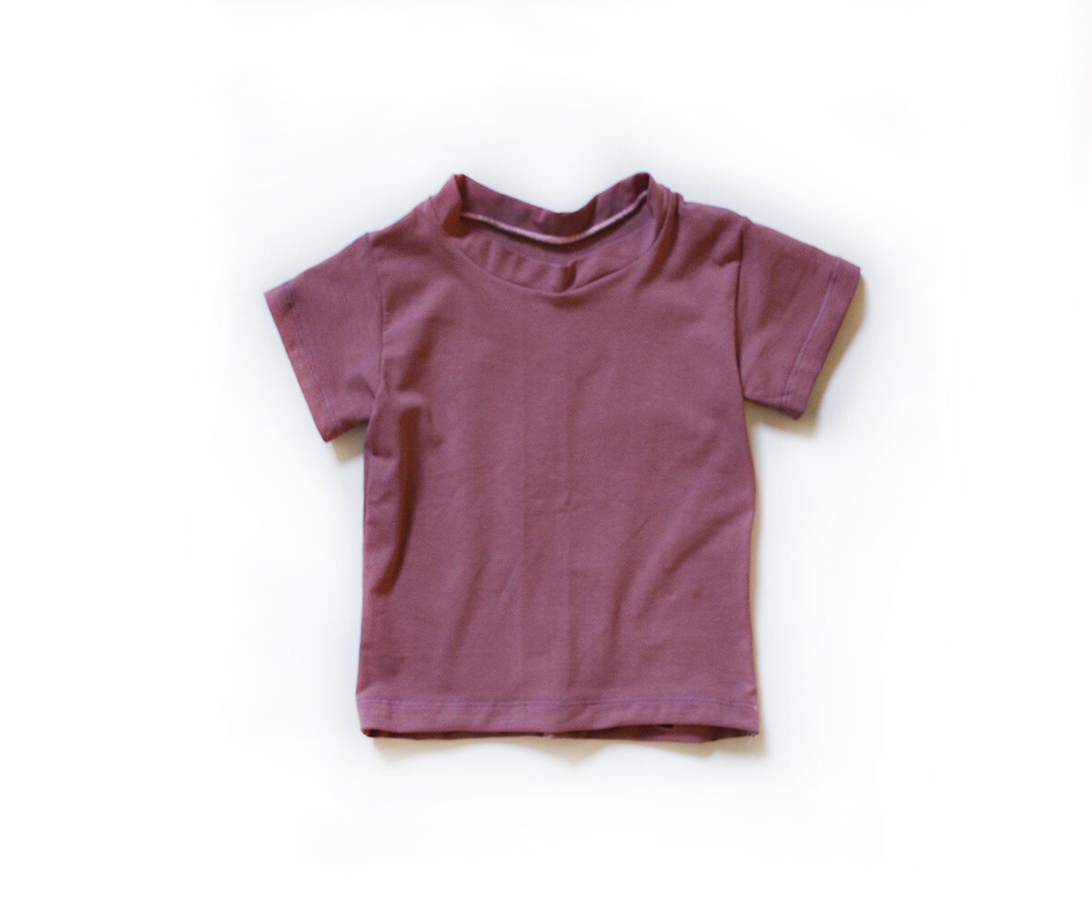 Little Sprout™ Cotton T-Shirt in Mauve | NEW Fall 2019