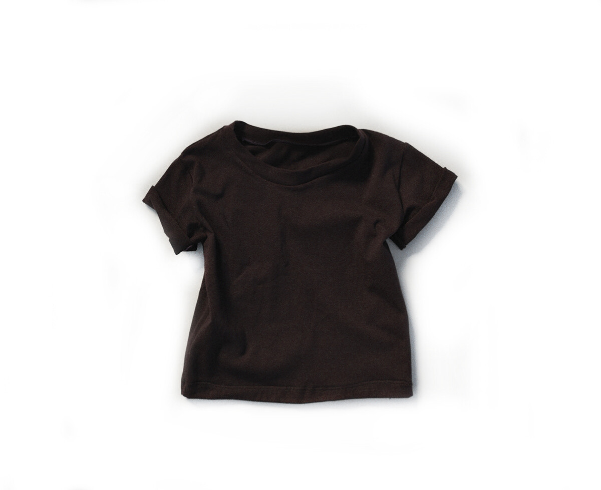 Little Sprout™ Cotton T-Shirt in Cocoa | NEW Fall 2019