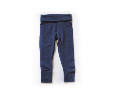 Little Sprout Pants™ in Denim Blue | Grow With Me Leggings