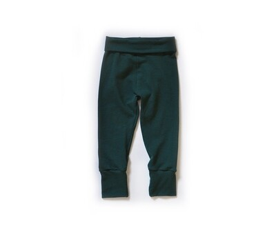 Little Sprout Pants™ in Emerald | Grow With Me Leggings