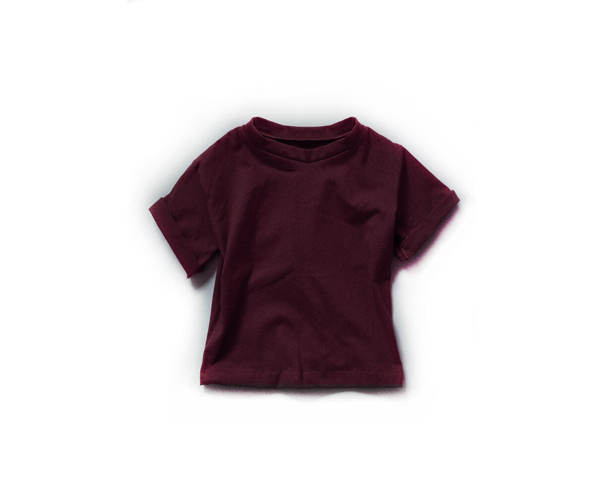 Little Sprout™ Cotton T-Shirt in Cranberry | NEW Fall 2019