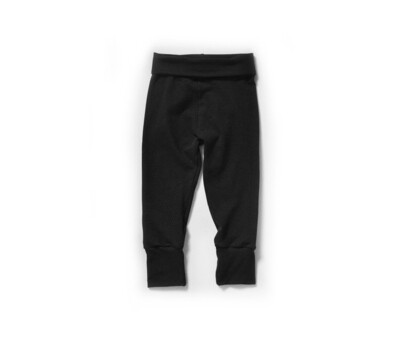Little Sprout Pants™ in Black | Grow With Me Leggings