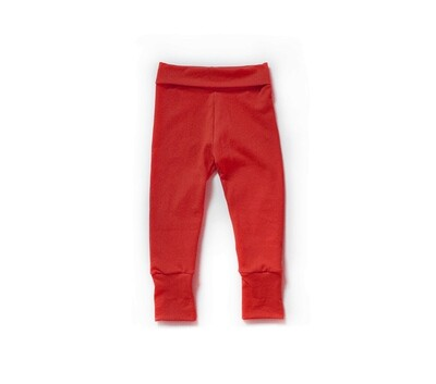 Little Sprout One-Size Pants™ - Maple Red