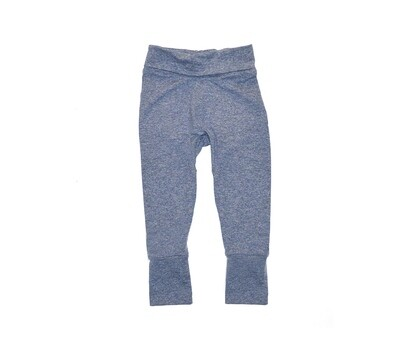 Little Sprout™ One-Size Grow with Me Pants in Heathered Denim