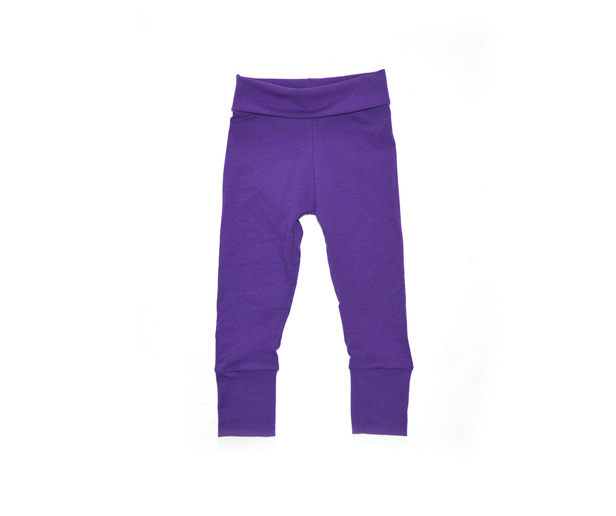 Little Sprout One-Size Pants™ Eggplant - Cotton