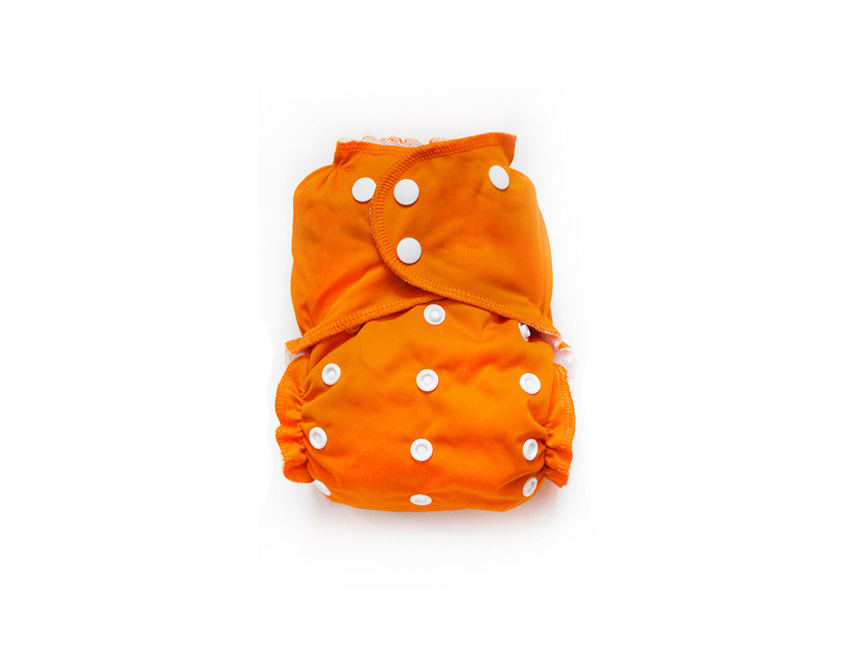 Easy Peasies One size Pocket Cloth Diaper - Pumpkin Spice