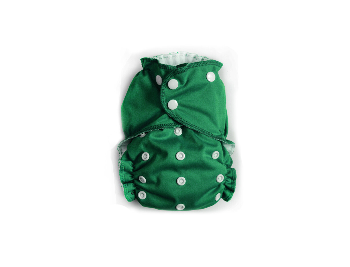 Easy Peasies One size Pocket Cloth Diaper - Deep Woods - NEW!