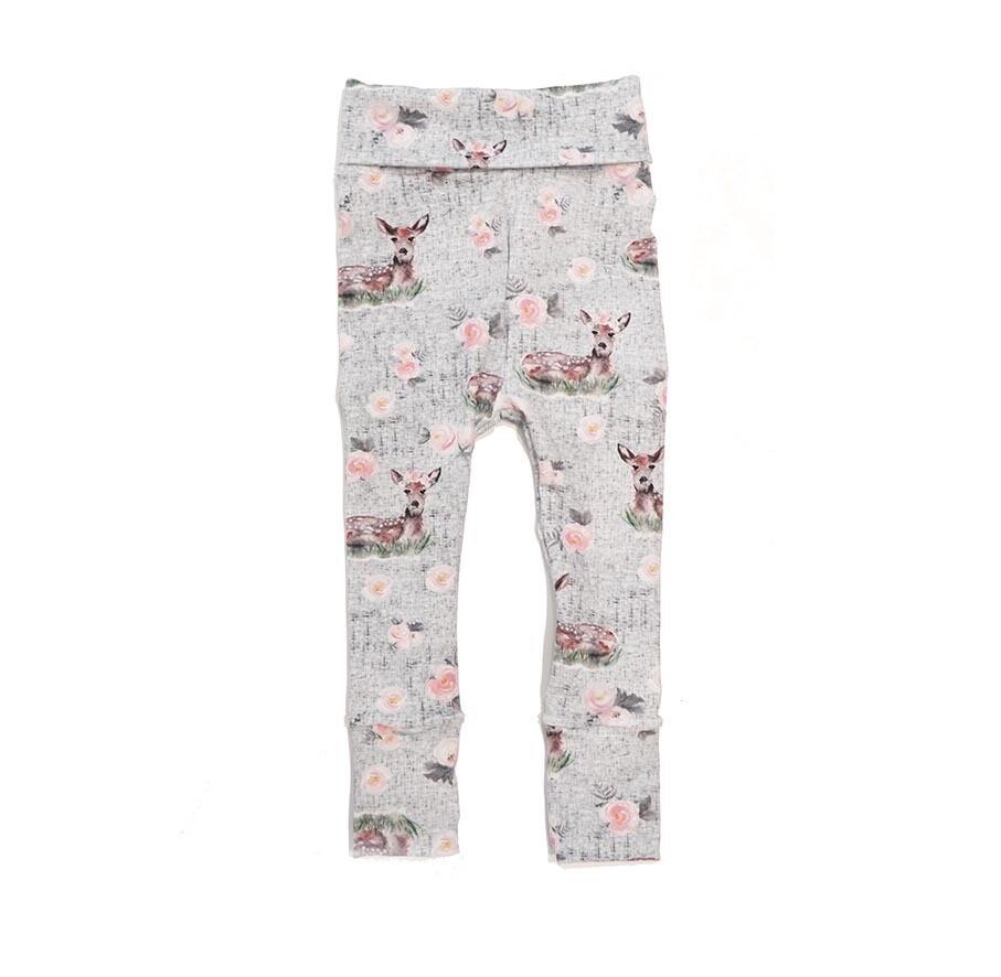 Little Sprout Pants -Fawn - Cotton