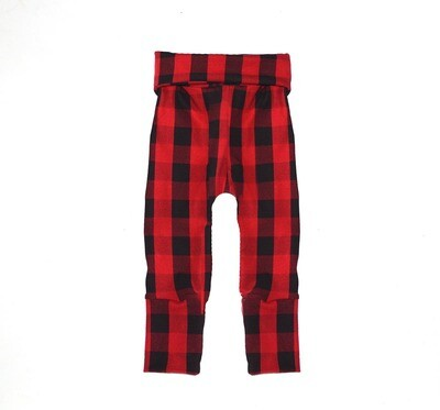 Little Sprout One-Size Pants™ Plaid - Cotton