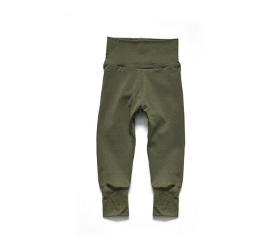 Little Sprout Pants™ in Olive | Grow With Me Leggings