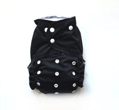 Easy Peasies All in One (AIO) Cloth Diaper  - Eclipse
