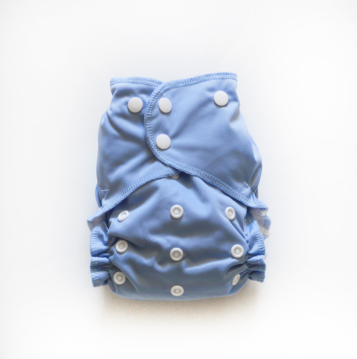 Easy Peasies One size Pocket Cloth Diaper - Steel