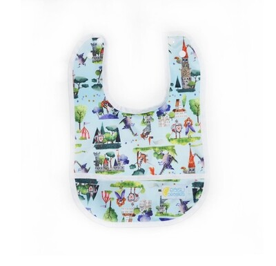 Easy Peasies® Stay Clean Bib - The Good Knight